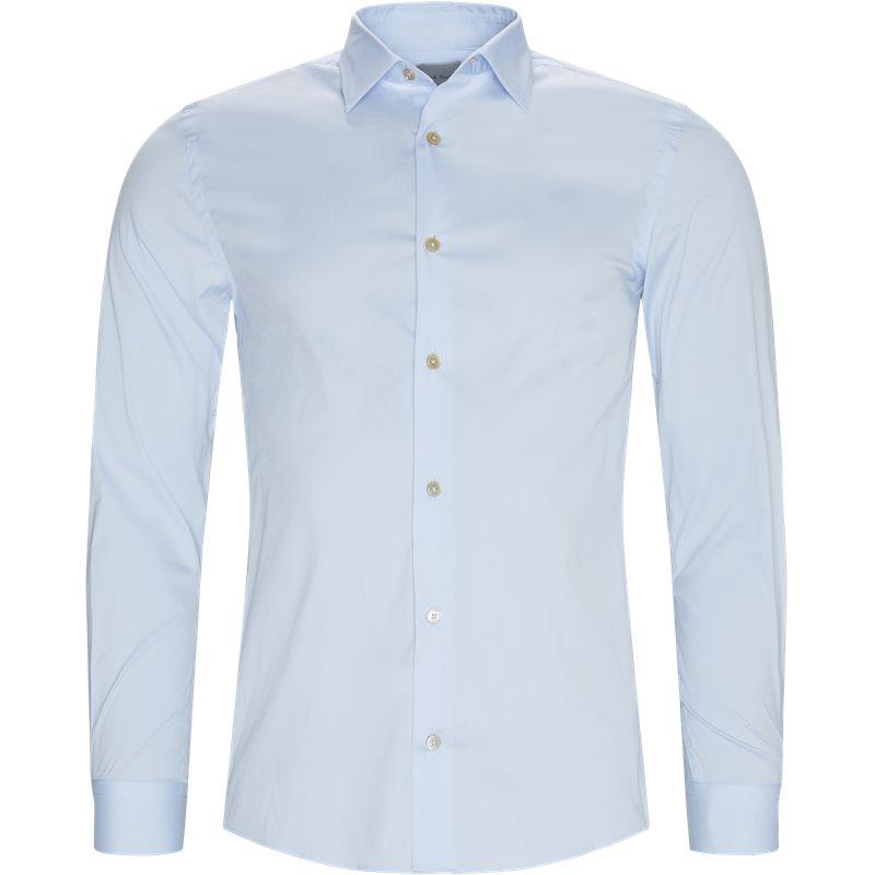 Paul smith main slim 170rt c00051 kensigton fit skjorter l blå fra paul smith main fra axel.dk